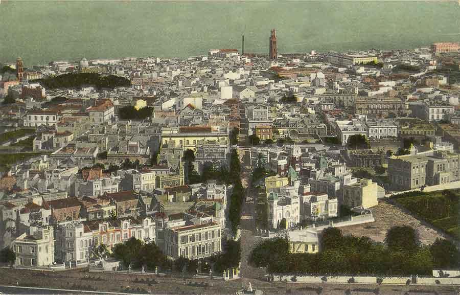 Santa Cruz de Tenerife desde el Quisisana